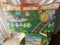 Unusual, Reversible Play Mat in storage/carry case..BRAND NEW