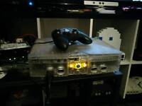 XBOX RETRO ARCADE CRYSTAL CONSOLE **UPGRADED 160G HDD **