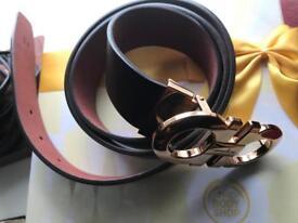 Ferragamo belt size 32- 34real leather- brand new