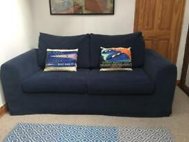 Navy Blue Relyon Sofa Bed