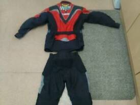 Motor cross motor bike suit..