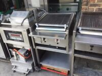 CATERING COMMERCIAL BBQ KEBAB ARCHWAY CHARCOAL 2 BURNER LAVA STONE GRILL RESTAURANT TAKE AWAY SHOP