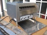 Dualit commercial conveyor belt toaster 3 row, serviced.