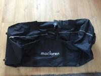 Maclaren double travel bag