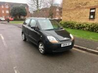 2008 Chevrolet Matiz 1.0, Black, Only 50K, New MOT, Tax, Cheap Car, 5 Doors