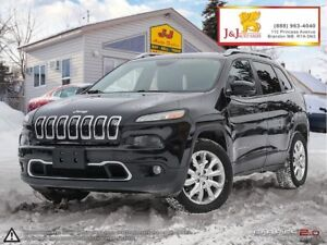 2014 Jeep Cherokee Limited Leather,Panoramic Sunroof,4X4