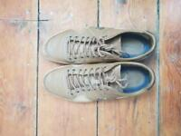 Brown Lacoste shoes size 7