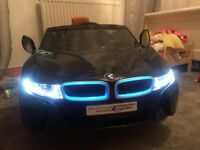 Official BMW I8 kids electric car.