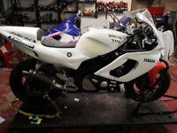 YZF 600 R Yamaha Thundercat Track bike (not gsxr cbr zxr )