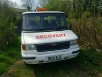 Ldv recovery truck with 2,5 turbio with smiler engine in