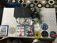 Sony PS2 Slim Console, 1 Controller and games bundle £40 ONO