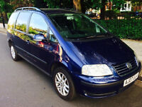 Volkswagen Sharan 1.9 SE TDi 115 Auto 7 Seater With Genuine 79,480 Miles & Full Service History