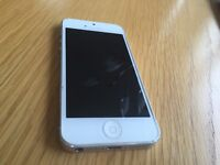 iPhone 5s silver vodafone mint condition for sale