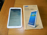 Samsung Galaxy Tab 3 for sale, excellent condition