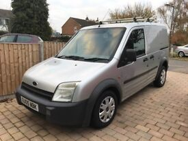SILVER FORD TRANSIT CONNECT 1.8 VAN WITH 1 YEAR MOT