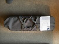 Travel Cot - Mothercare Serenity with assembly instructions - in very good condition