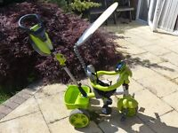 Little Tike 4 in 1 trike Lime Green