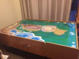 Play / train table ONLY