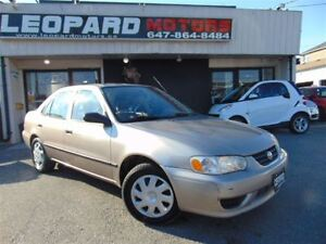 2001 Toyota Corolla CE,AUTOMATIC,AC,CERTIFIED,WITH WARRANTY