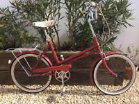 Vindec vintage shopper 1974 3 speed retro bike good condition