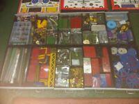 Large amount of original Meccano for sale