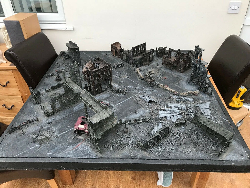 warhammer 40k gaming board unique one off pro painted in