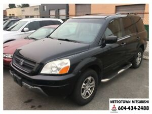 2004 Honda Pilot EX-L 4WD; No accidents!
