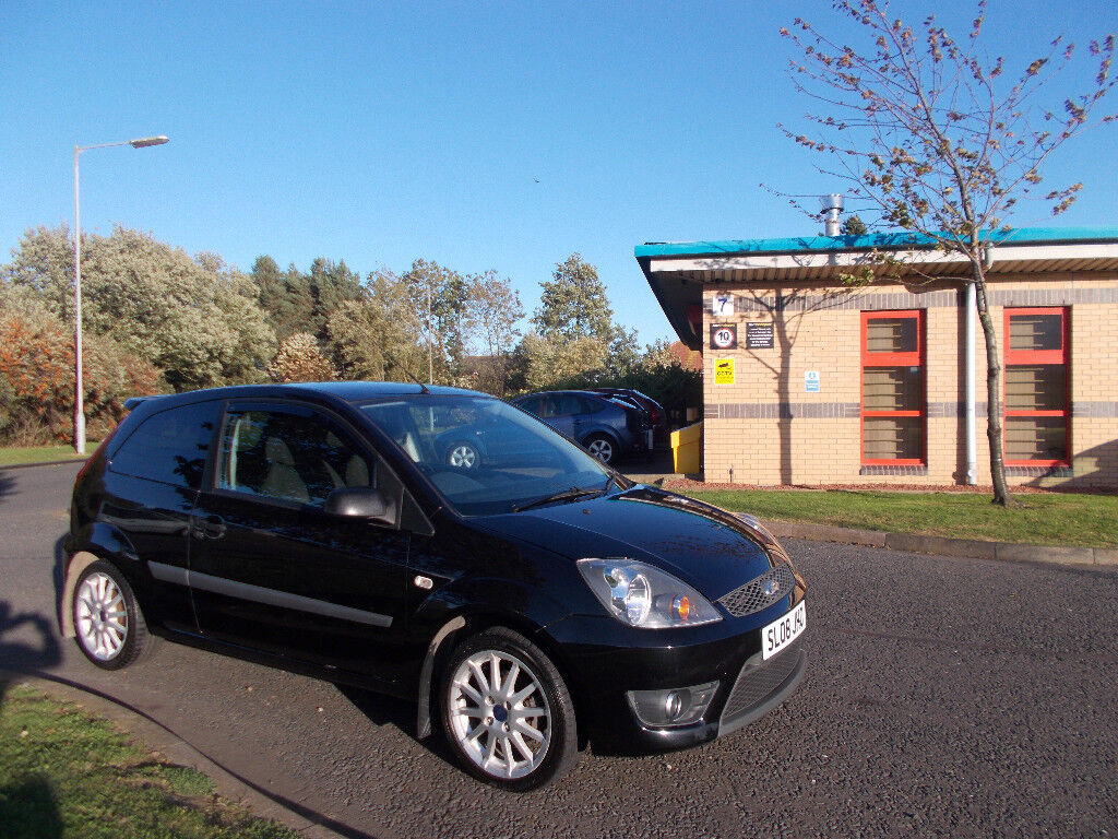 FORD FIESTA 1.6 ZETEC S HATCHBACK STUNNING BLACK NEW SHAPE 2008 BARGAIN £1750 *LOOK* PX/DELIVERY