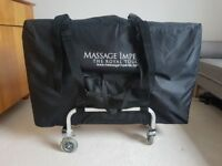 Massge table and accessories for sale
