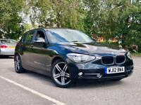 2012 BMW 116I SPORT BLACK 5 DR! 1 SERIES not VW GOLF GTD AUDI A3 ASTRA FOCUS LEON SEAT FORD
