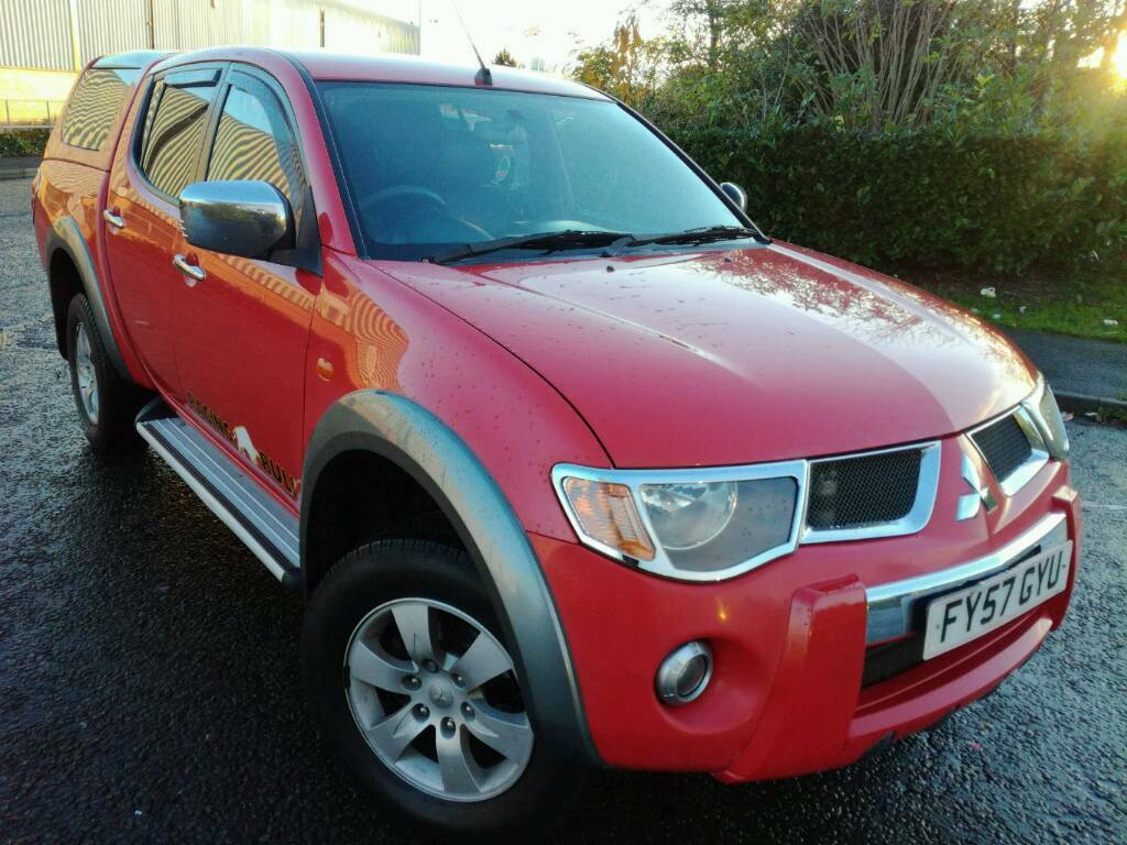 2007 57 MITSUBISHI L200 RAGING BULL LTD EDITION PRICED TO SELL!!!.