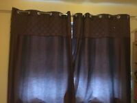 Curtains And matching cushions