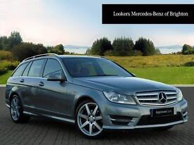 Mercedes-Benz C Class C180 BLUEEFFICIENCY AMG SPORT (silver) 2013-10-31