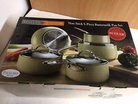 Scotts of Stow Non-stick 5 Piece Buttermilk Pan set