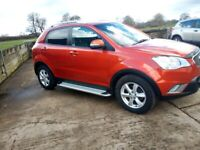 EXCELLENT CONDITION AUTOMATIC Ssangyong KORANDO (CHEAP TAX AND INSURANCE)