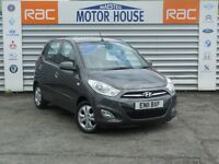 Hyundai i10 ACTIVE (LOW MILEAGE) FREE MOT'S AS LONG AS YOU OWN THE CAR!!! (grey) 2011