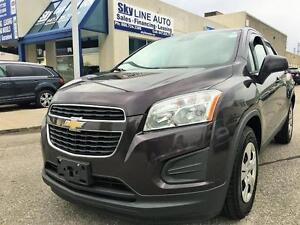 2014 Chevrolet Trax 6 SPEED MANUAL/CERTIFIED/BLUETOOTH