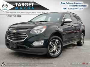 2016 Chevrolet Equinox $79/WK TAX IN! LTZ! AWD! LEATHER! NAV! SU