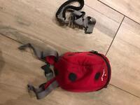 Toddler back pack reins