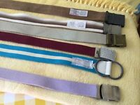 6 as new canvass belts