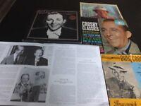 Bing crosby 4 albums / 6 records
