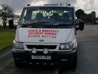 Cheap recovery and transport service
