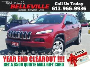 2015 Jeep Cherokee one Owner - $75 Weekly- Heated Seats - Remote