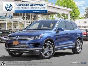 2017 Volkswagen Touareg AWD 4dr Execline