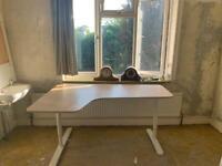 Bekant corner desk left, perfect condition