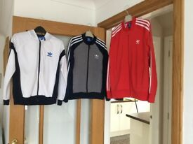 3 x Boys Adidas tops