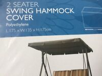 BRAND NEW 2-SEATER SWING HAMMOCK COVER.