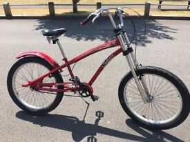 American Long Beach Chopper men's Bike, extremely comfortable, hardly used, like new