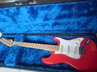 Rockwood 1980s retro electric guitar exellent contition