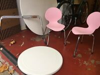 Kids table and two chairs from John Lewis